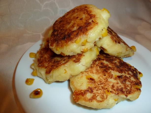 Corn and Cheese Griddle Cakes (Arepas) - 2 Ww Points