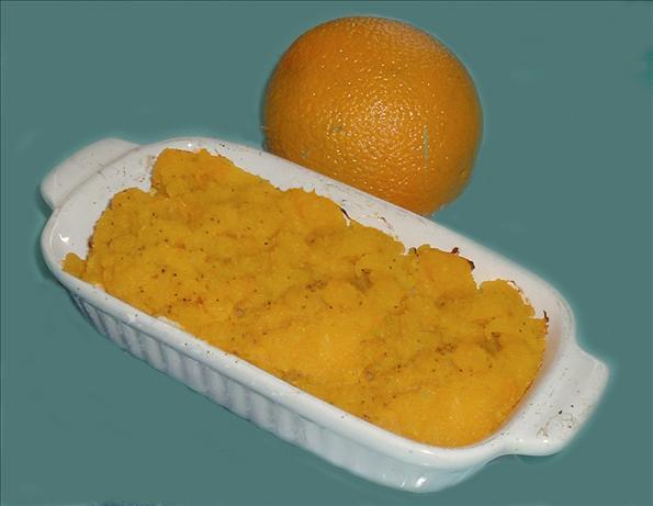 Hubbard Squash and Orange Puree