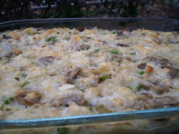 Terrific Turkey (Or Chicken) Tetrazzini