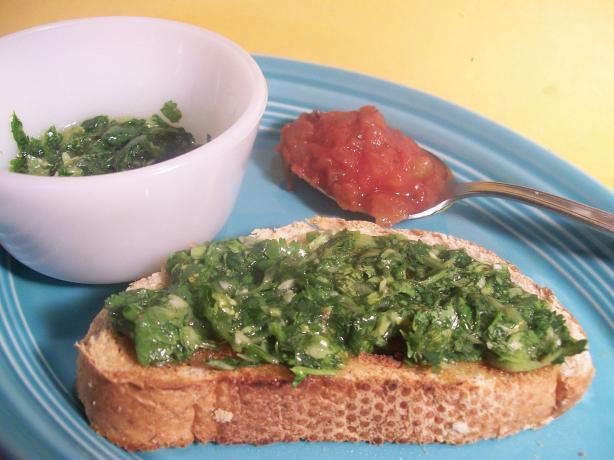 Bread Dippin' Cilantro Salsa