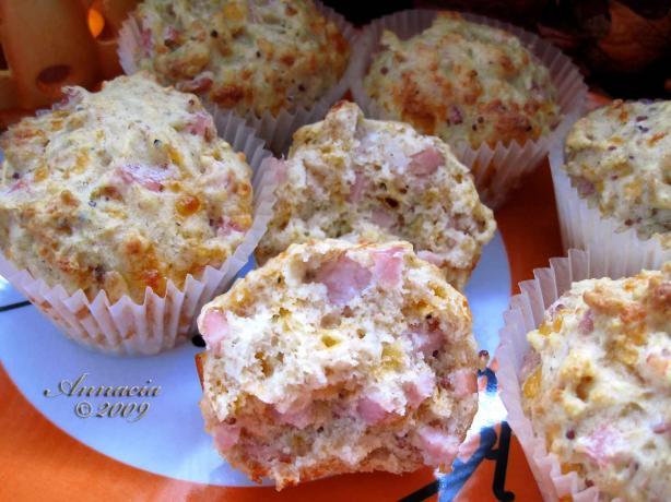 Ham N' Cheese Muffins