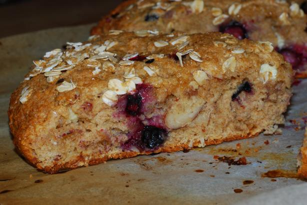 Cranberry Whole Wheat Scones, Diabetic Friendly