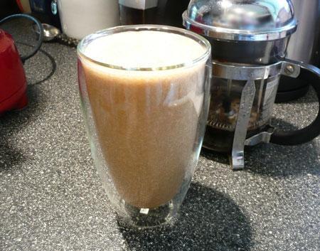 The Caffeinated Banana Smoothie
