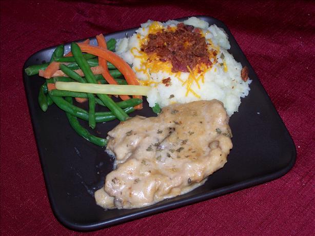 Saucy Crock Pot Pork Chops