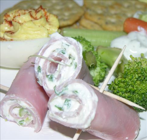 Ham and Cream Cheese Rollups