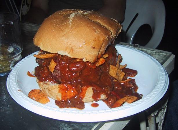 Thick Crock Pot Burger Chili
