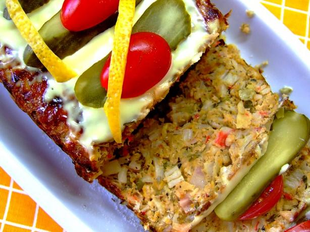 Salmon & Crab Loaf