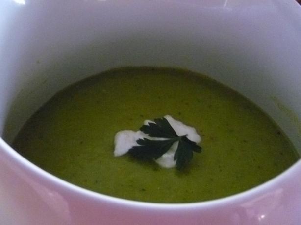 Avocado & Cucumber Soup