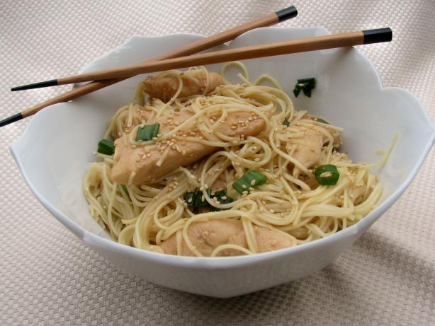 Teriyaki Chicken Noodle Salad
