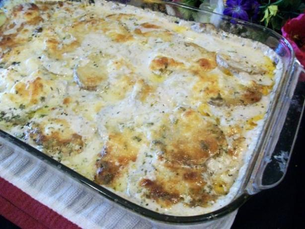 Pioneer Woman's Creamy Herbed Potatoes