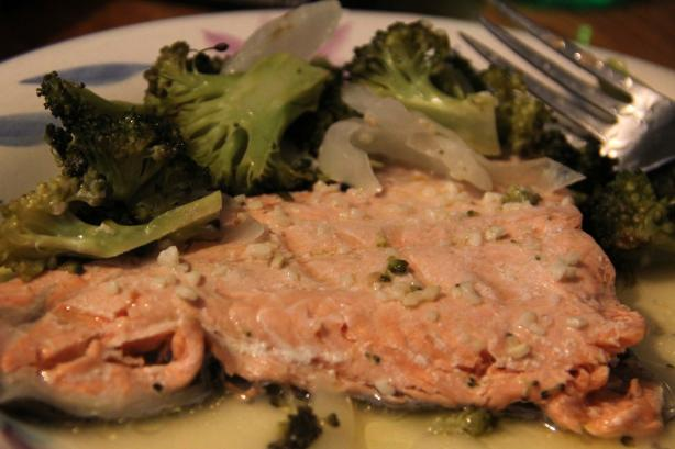 Garlic-Lemon Butter for Grilled Salmon