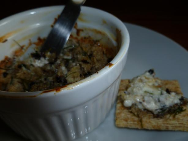 Warm Blue Cheese Spread With Pecans