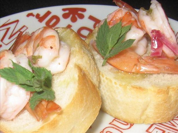 Boulevard Gourmet's Shrimp Mojito Ceviche