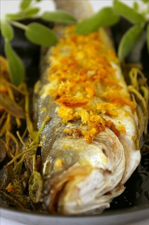 Pesce Lupo Al Forno (Baked Sea Bass With Sage)