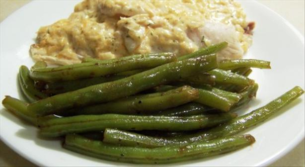 Green Beans With Balsamic Vinegar