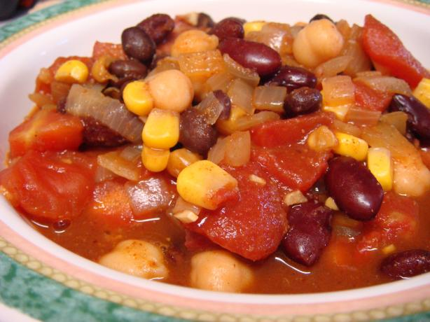 Craig's Three Bean Chili