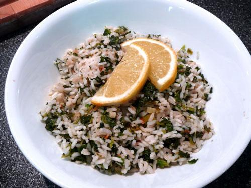 Riso Verde (Green Rice)