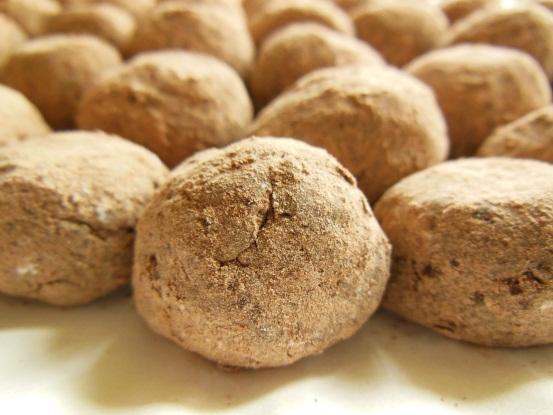 French Cocoa Sweetened Condensed Milk Snowballs - No Bake Candy