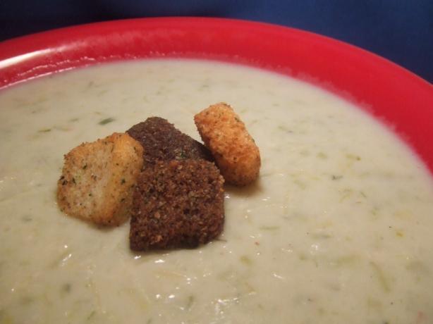 Potato Leek Cheese Soup