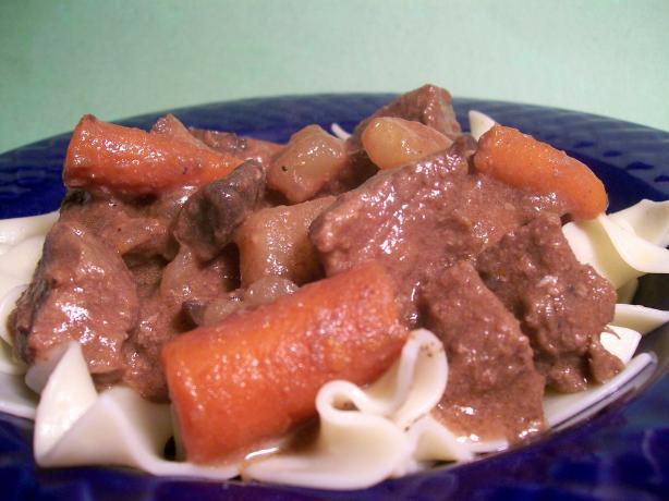 Crock Pot Wild Mushroom Beef Stew