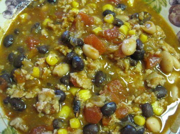 Turkey & Bean Taco Soup