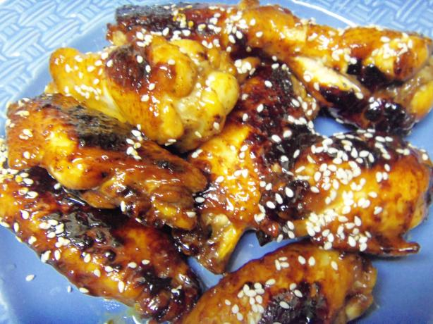 Sticky Honey-Soy Chicken Wings - Tyler Florence
