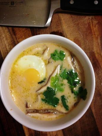 Miso Coconut Curry Soup - Creamy Zen Tropical Masterpiece