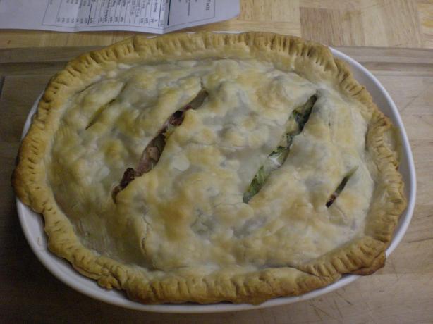 Chunky Ham Pot Pie