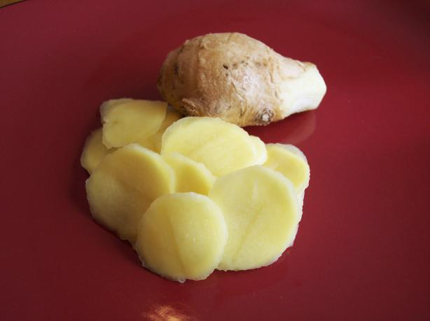 Quick Pickled Ginger