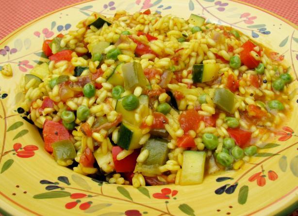 Spicy Spanish Saffron Rice