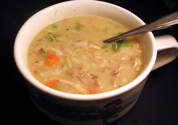 Baked Chicken Soup