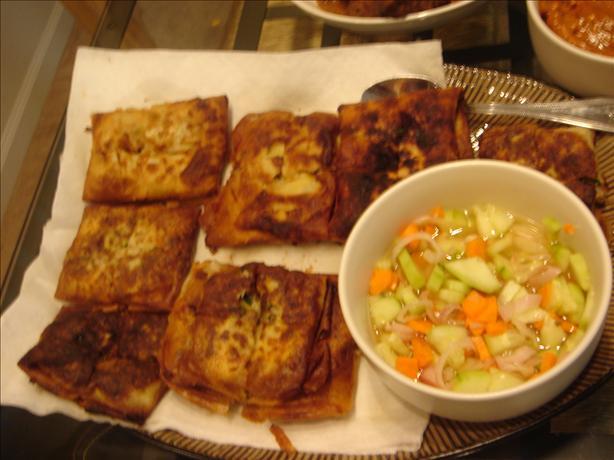 Deep Fried Beef Rolls (Martabak Telur)