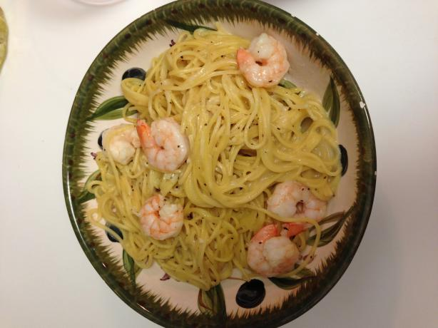 Easy Shrimp and Pasta Primavera