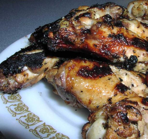 Grilled Ginger Chicken Wings