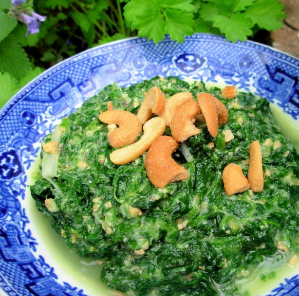 Asparagus-Spinach Dip (Vegan)