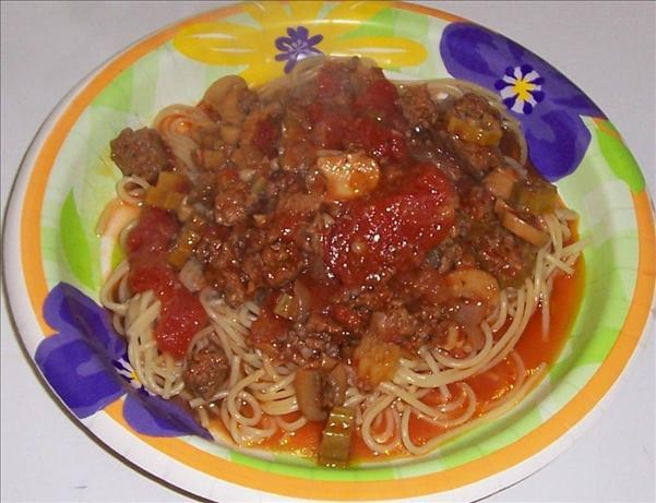 Mom's Cajun Spaghetti
