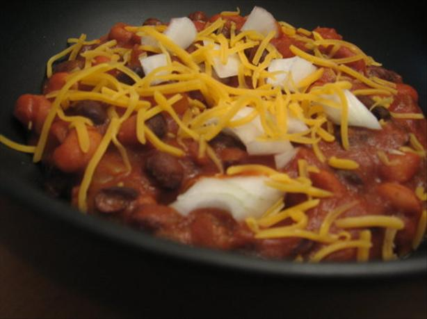 Easy and Quick Vegetarian Chili