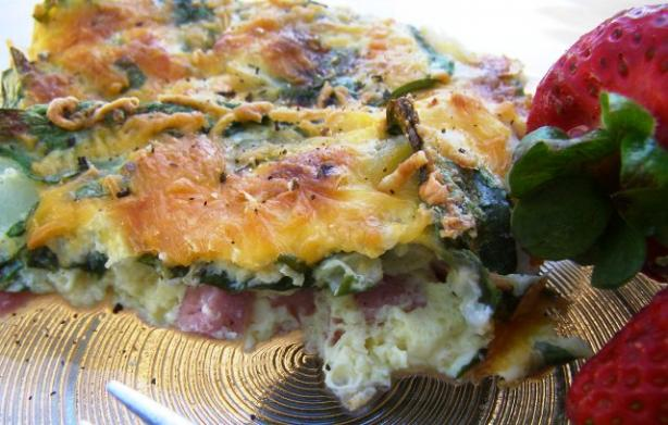 """Kitchen Sink"" Egg Bake"