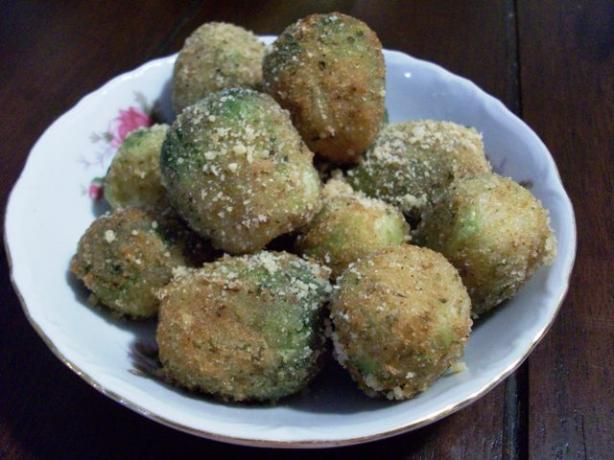 Fried Breaded Brussels Sprouts
