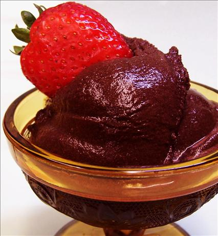 Pareve Chocolate Sorbet