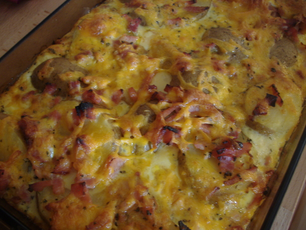 Baked Potato Brunch Casserole