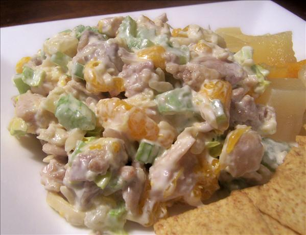 Fruited Chicken Salad (No Grapes)