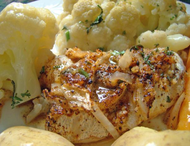 Algarve Oven-Baked Codfish With Cauliflower (Pescada Assada)