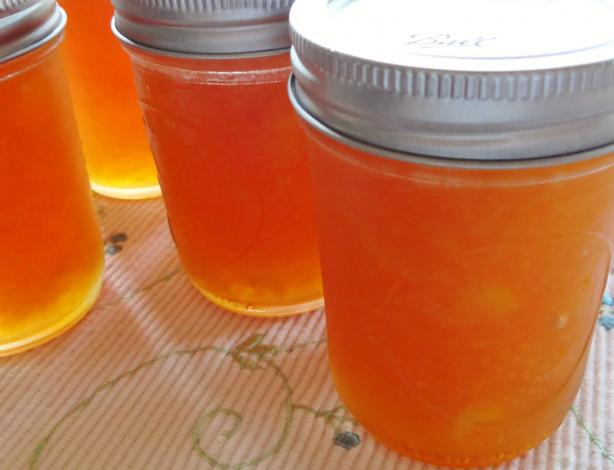 Greek Nectarine Preserves