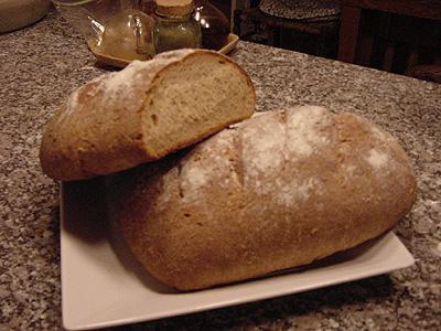 100% Honey Whole Wheat/Cracked Wheat Bread