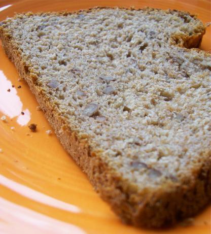 Honey Whole Wheat Pecan Bread (Bread Machine)