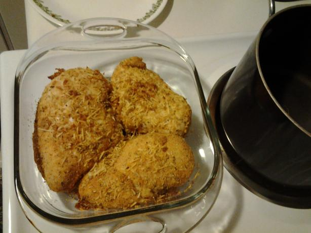 Baked Parmesan Crusted Chicken Breast