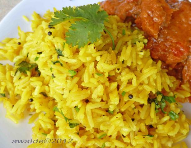 Golden Lemon Rice