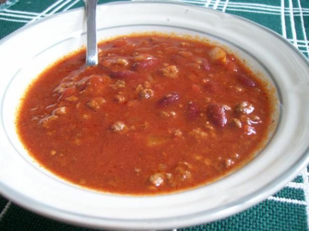 Easy Chili (Crockpot)