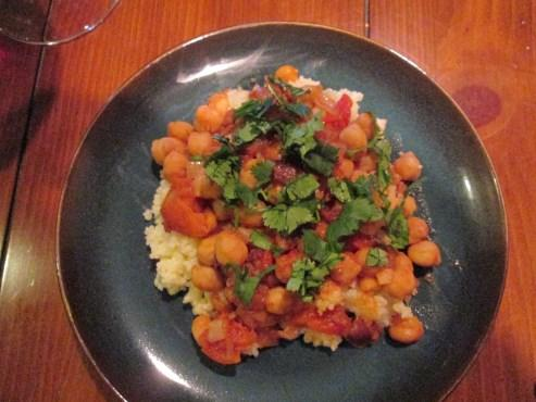 Chickpea and Date Tagine, Vegetarian